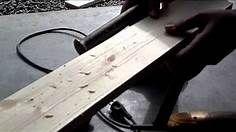 How to make reg wood look like barn wood - Bing Videos