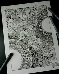 tattoo - mandala - art - design - line - henna - hand - back - sketch - doodle - girl - tat - tats - ink - inked - buddha - spirit - rose - symetric - etnic - inspired - design - sketch Doodle Art Drawing, Zentangle Drawings, Mandala Drawing, Art Drawings, Zentangles, Doodle Designs, Doodle Patterns, Zentangle Patterns, Dibujos Zentangle Art
