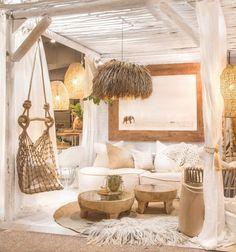 Ideas to Supercharge Your Bohemian Home Decor - Vintage Furniture Decor, House Design, House, Interior, Home, Beach House Interior, House Interior, Home Deco, Bedroom Decor