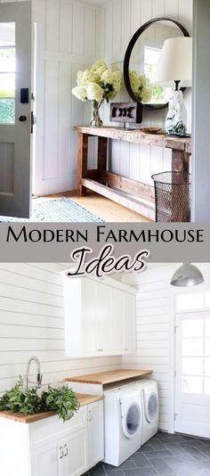 Farmhouse Decor Ideas Farmhouse Style Decorating, Farmhouse Design, Family  Room Decorating, Country Farmhouse