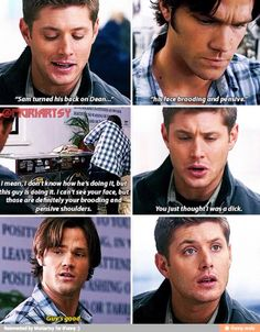 Chuck and the Winchester Gospels Supernatural Season 4, Don't Judge, Superwholock, Winchester, Nerdy, Mirrored Sunglasses, Tv Shows, Feels, Guys