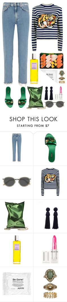 """5.402"" by katrina-yeow ❤ liked on Polyvore featuring Acne Studios, Dolce&Gabbana, Ace, Gucci, Anya Hindmarch, Rodin Olio Lusso, Rodin, NYX and Accessorize"