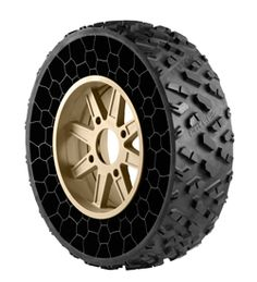 Polaris Borrowing Airless Tire Tech From Subsidiary, Putting it Into Production