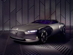 Le Corbusier Concept Car - Renault has commemorated the 50th anniversary of the death of Le Corbusier by creating a concept car that references his Modernist architecture.