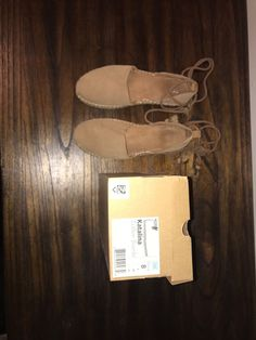 50105f3a1eb3 New Toms Womens Toffee Suede Women s Katalina Espadrilles Shoes Lace up  Flats  fashion  clothing