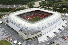 Itaipova Arena Pernambuco, sede del Naútico de Recife. 46.154 espectadores.