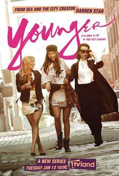 Younger une série TV de Darren Star avec Sutton Foster, Debi Mazar. Retrouvez toutes les news, les vidéos, les photos ainsi que tous les détails sur les saisons et les épisodes de la série Younger