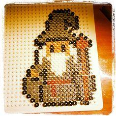 LOTR Gandalf hama beads by essalo