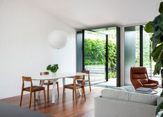 Dining | Potts Point Dining Room by Flack Studio | Est Living | Interiors, Architecture, Designers & Products Flack Studio, Rammed Earth Homes, Family Dining Rooms, Interior Architecture, Interior Design, Melbourne House, Storey Homes, Australian Homes, Design Studio