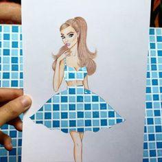 Creative Fashion Designs by Armenian Artist Edgar (FB page)