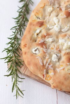 ricotta and rosemary focaccia