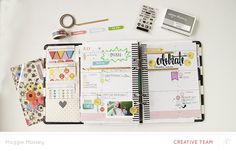 Blog: Video | Setting Up Your Planner with Maggie Massey - Scrapbooking Kits, Paper & Supplies, Ideas & More at StudioCalico.com!