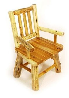 White Cedar Log Armchair