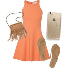 Summer party outfit by apoorva-kanekal on Polyvore featuring polyvore, fashion, style, Elizabeth and James, Tkees, Patchington and Rifle Paper Co
