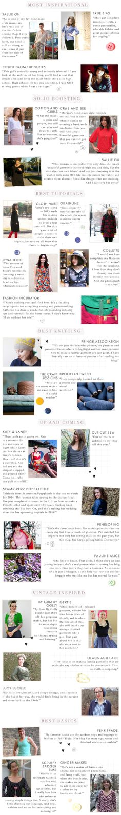 best sewing blogs 2014