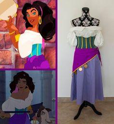 DIY Halloween Costume Idea: Princess Aurora |Diy Esmeralda Costume