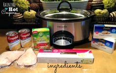 ingredients3 Crock Pot Chicken Fettuccine Alfredo Recipe