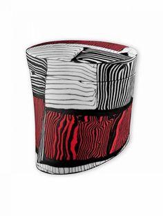 Crispin McNally. Porcelain ceramics using Nerikomi technique