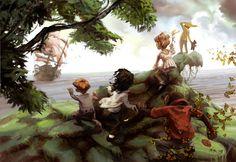 Neverland by LolosArt.deviantart.com