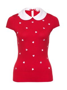 You'll be the queen of hearts in the Summer Romance Knit. Fashion Wear, Spring Fashion, Fashion Dresses, Cute Asian Fashion, Soft Gamine, Summer Romance, My Wardrobe, Vintage Looks, Knits