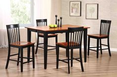 Country Marketplace - Urban Country Pub Table plus 4 Barstools, $999.00 (http://www.countrymarketplaces.com/urban-country-pub-table-plus-4-barstools/)