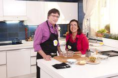 Alon Bar junto a Eva Celada en el programa de Y además cocinan http://www.canalcocina.es/programa/y-ademas-cocinan