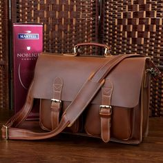 Men's briefcases and totes need TLC too. Trust Hallak's leather specialists to clean & protect your favorite piece(s). #mensfashion #mensleather #leatheraccessories