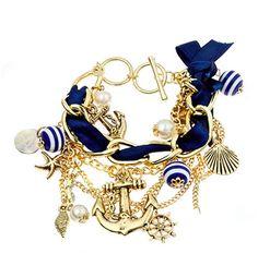 Blue With Blu Bijoux $38