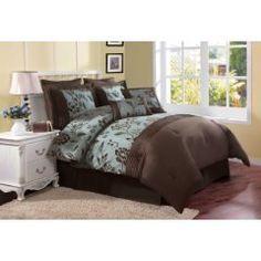 90 Best Teal And Brown Bedding Images Bedroom Decor Bedroom