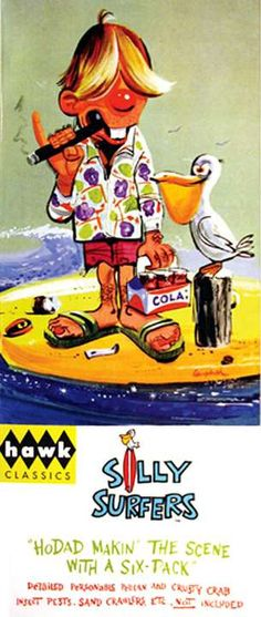 weird-ohs model kits | ... Weird-Ohs Silly Surfers HoDad Makin the Scene With a Six Pack Model