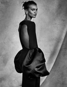 Publication: Vogue Italia April 2016 Model: Liya Kebede Photographer: Patrick Demarchelier Fashion Editor: Elin Svahn