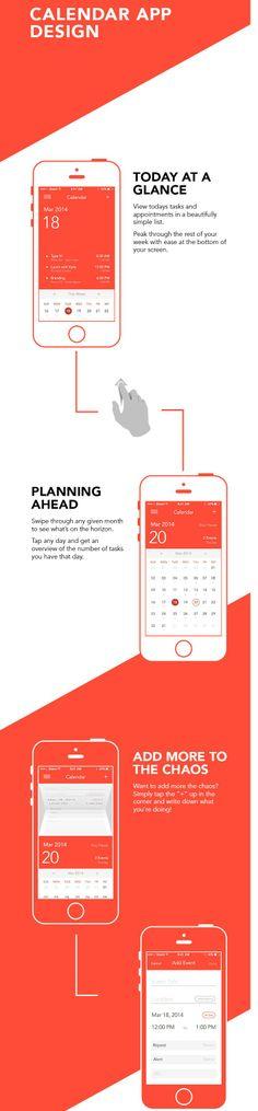 Calendar Design Application : Images about mobile ui calendar on pinterest