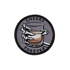 'Cheers Forever' Patch from Lil Bullies