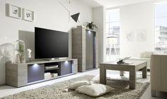 Sidney Collection Large TV Unit with LED Spotlights (TV & media unit) | image 3