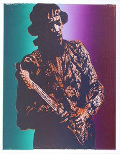 Jimi Hendrix - The Alcorn Studio & Gallery