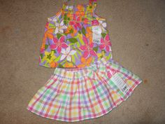 okie dokie baby girl clothes 3- 6 monthes  	$6.50