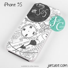 5 sos art collage Phone case for iPhone 4/4s/5/5c/5s/6/6 plus