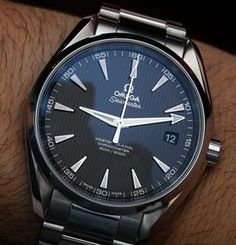 0bde5c88555 Omega Seamaster Aqua Terra Master Co-Axial Watches Hands-On Hands-On