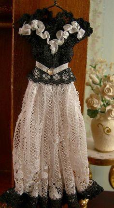 Doll dress by Felma