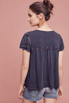 Indigo Etchings Blouse