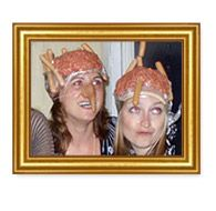 Why would you NOT wear a hat made of meat?    Come on - don't say you don't want to.