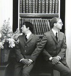 Gilbert & George, 8, Pelham Place, London [1968 Cecil Beaton].