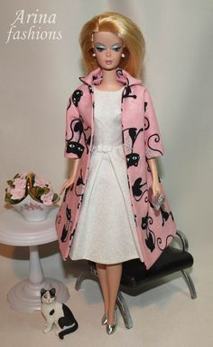 Silkstone Barbie in Arina fashions | Flickr - Photo Sharing!