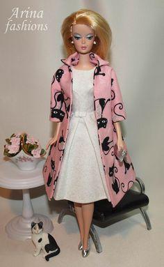 Silkstone Barbie in Arina fashions | Flickr - Photo Sharing!