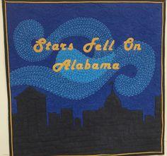 Stars Fell on Alabama Quilt