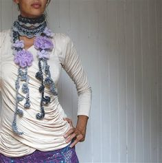 heegeldab: Salle sügiseks/ New scarf patterns for fall!