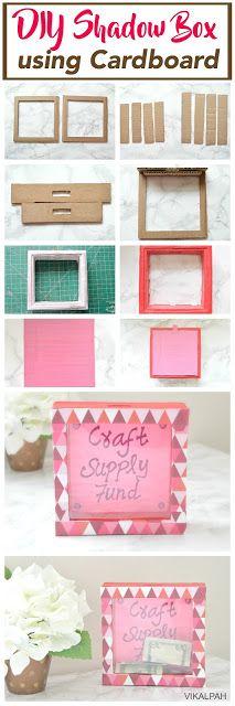 23 New Diy Shadow Box Concept . 20 Shadow Box Ideas Cute and Creative Displaying Meaningful Diy Photo, Cool Diy, Easy Diy, Cadre Diy, Diy Karton, Carton Diy, Diy Shadow Box, Shadow Art, Papier Diy