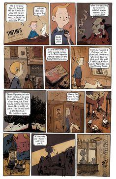 Tintin by Roman Muradov