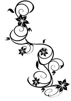 Rose Vine Tattoos on Pinterest | Tattoos and body art, Rose ...