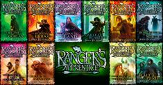 Ranger Apprentice series-great for the boys. Of course some girls like myself think they're great too!